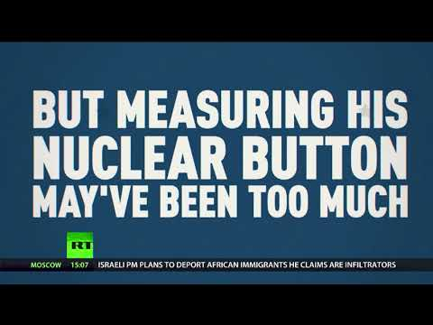 Was Trump comparing his nuclear button with North Korea a step too far?