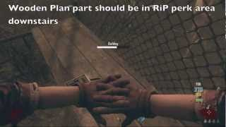 Call Of Duty Black Ops 2 Zombies - Tranzit Greenrun | Obelisk Tabel, Navcard & Tower Location