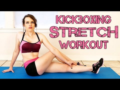 Flexibility Stretches For Beginners, Pre or Post Workout Stretch Routine Kick Boxing Series