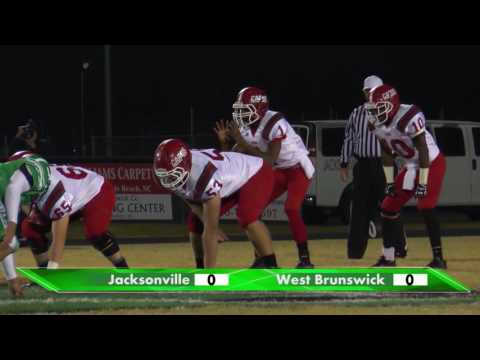 West Brunswick High School Football - NCHSAA Playoffs - vs Jacksonville