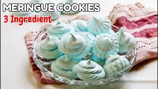 Video 3 Ingredient Meringue Cookies download MP3, 3GP, MP4, WEBM, AVI, FLV Juli 2018
