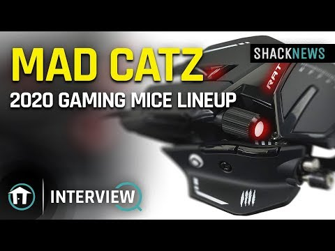 Mad Catz 2020 Gaming Mice Lineup