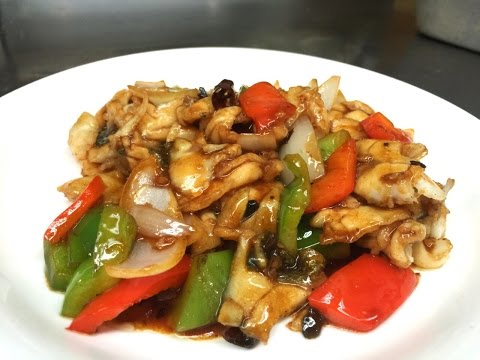 How To Fillet A Sea Bass & Stir Fry The Fish 豉汁炒魚片 By CiCi Li