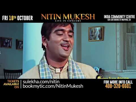 Remembering Mukesh: Nitin Mukesh Live In Concert (Mehfill Style Concert ) 2019