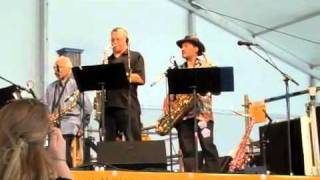 Amadee Castanell at the New Orleans Jazz Fest