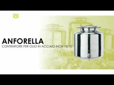 Contenitori per vino e olio in acciaio inox Cordivari su Masterbrico.com
