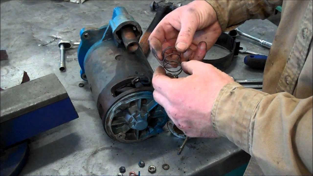 ford diesel starter wiring