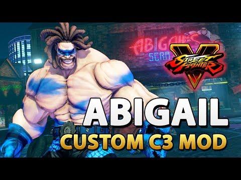 Custom Abigail (C3) - Street Fighter V Mod