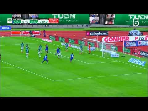 Gol Juan Escobar | Cruz Azul 1 - 0 León | Liga MX - Guardianes 2020 - Jornada 3 | LIGA BBVA MX