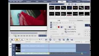How To Make Text Bar Slide In Ulead Video Studio Urdu/Hindi Tutorial