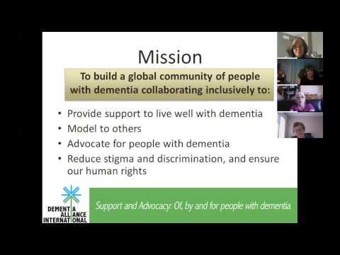 A Meeting of the Minds: Dementia Alliance International