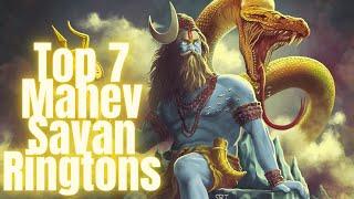 Top 7 Mahadev Ringtone   Best of Savan 2021   Lordshiva djringtone   mahakal 4K Whatsapp Status 2021