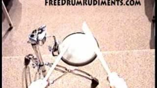 Drum Rudiments #30 - Flam Drag - FreeDrumRudiments.com