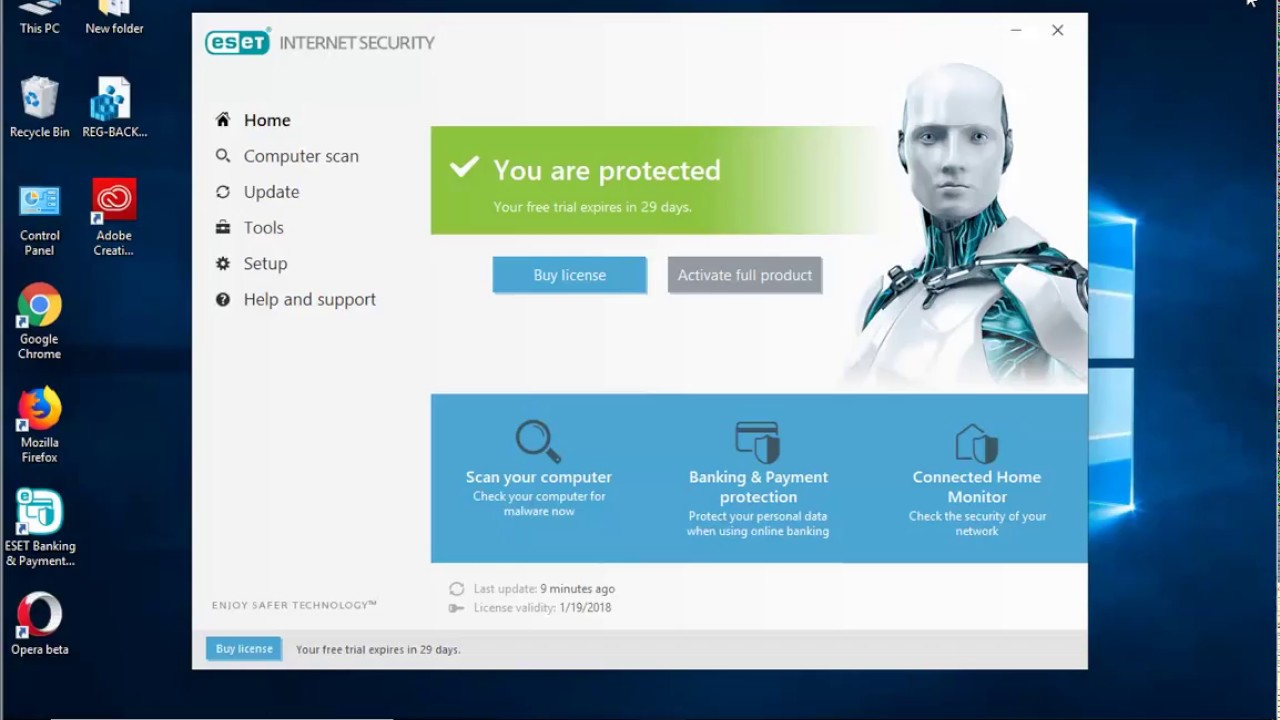 How to uninstall eset smart security youtube.
