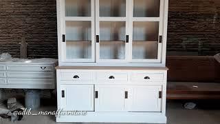 Manaf Furniture : Lemari Hias   Lemari Pajangan   Rak Buku   Lemari   Rak   Kabinet