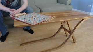 Woodworking Time Lapse: Han's Cantilevered Table