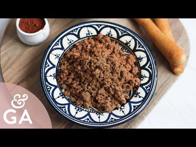 ¿Cómo hacer Picadillo de chorizo? Receta de Picadillo de cerdo, prueba o zorza