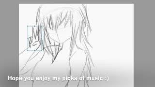 AnimuNerd draws an anime devil girl (speed draw)