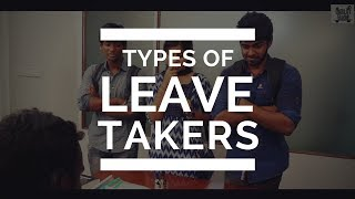 TYPES OF LEAVE TAKERS IN COLLEGE | #CollegeAtro...