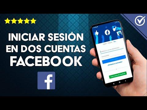 Cómo Abrir o Iniciar Sesión en dos Cuentas de Facebook en un Móvil