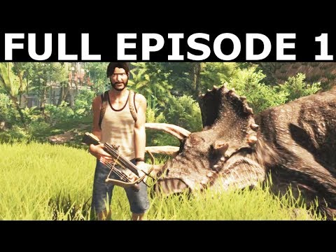 Dinosis Survival Episode 1 – Full Walkthrough Gameplay & Ending (No Commentary) (Indie Game 2017)