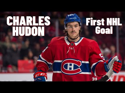 Charles Hudon #54 (Montréal Canadiens) first NHL goal 30/10/2017