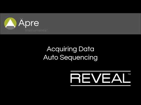 #5REVEAL Auto Sequence & Save Data