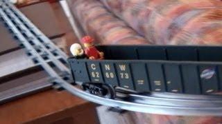 Christmas Train Roller Coaster