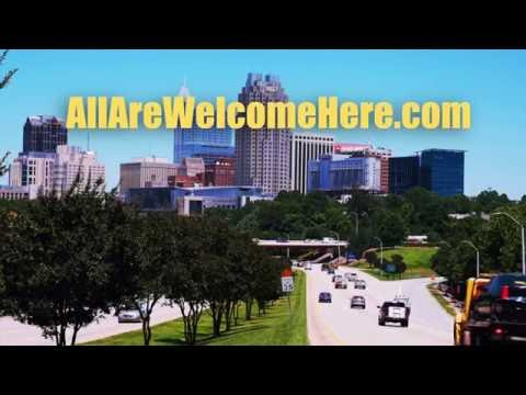#AllAreWelcomeHere - Raleigh, NC campaign sponsored by the Greater Raleigh Chamber of Commerce