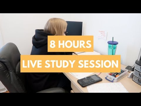 Study With Me - Live Study Session #176