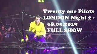 Twenty one Pilots LONDON night 2 - 08.03.2019 FULL SHOW