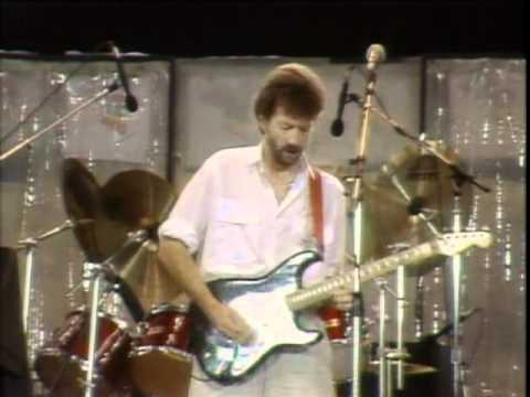 Eric Clapton & Phil Collins  Layla  Aid 1985