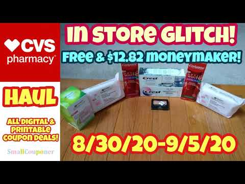 CVS Haul 8/30/20-9/5/20! All Digital and Printable Coupon Deals! Glitch!