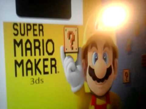 Super Mario Maker 3ds Trailer Qr Code Bonus Youtube