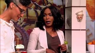 Angela Bassett Fulfills Her Love of Chocolate - The Chew
