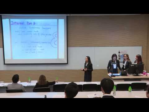 2016 Round 1 G3 HSBC/HKU Asia Pacific Business Case Competition
