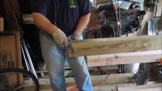 Building A New Workbench Part 2 - Leg Vise - A Video Tutorial By Old Sneelock's Workshop