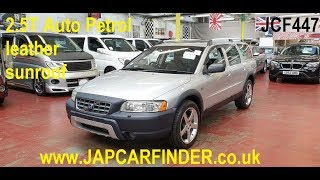 Volvo XC70 cross-country 2.5 T auto petrol @Japcarfinder.co.uk