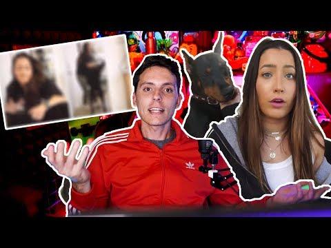 Brooke(youtuber) subio sin querer UN video Maltratando a su Perro:(-Wefere NEWS
