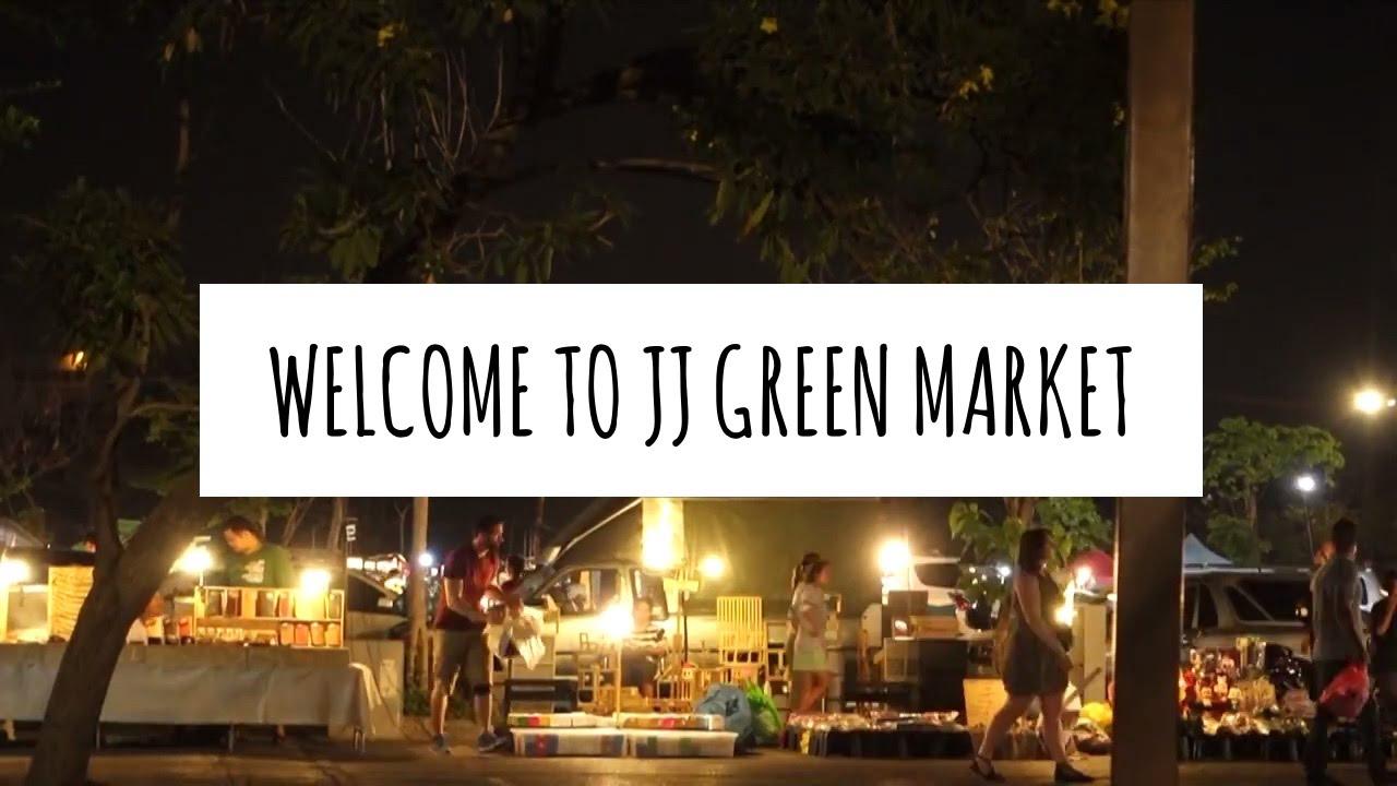 Welcome to JJ Green Market, Bangkok - YouTube