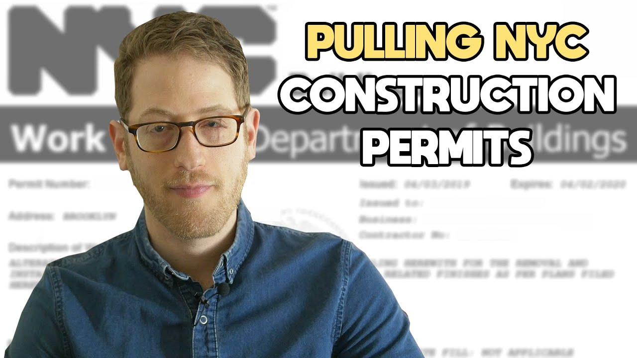 How to get construction permits in NYC