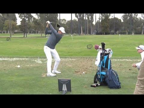Jordan Spieth on the Range
