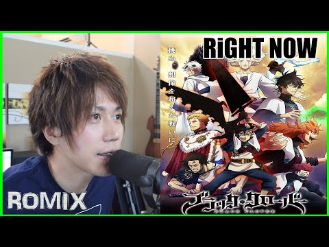 Right Now Black Clover Op9 Romix Cover