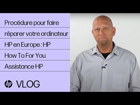 Procédure pour faire réparer votre ordinateur HP en Europe : HP How To For You | Assistance HP