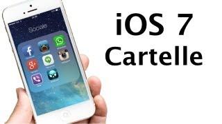 iOS 7 - Cartelle