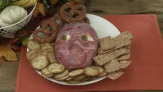Halloween Recipes - How To Make Flayed Man Cheese Ball