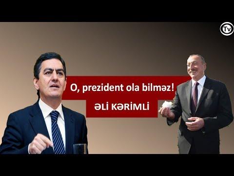 İlham Əliyevin  4-cü dəfə prezident olmağa haqqı yoxdur-Əli Kərimli