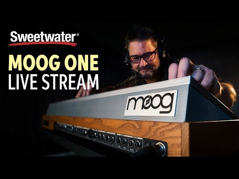 Live at Sweetwater: MOOG One Demo with Daniel Fisher Mp3