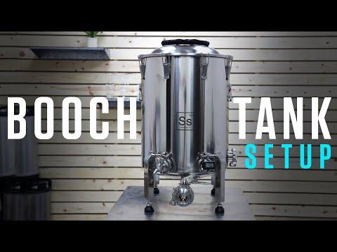Ss Brewtech Booch Tank Unbox/Setup Stainless Steel Kombucha Fermenter