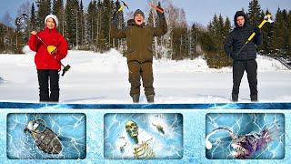 Кто найдет больше опасных и жутких находок подо льдом получит 1000